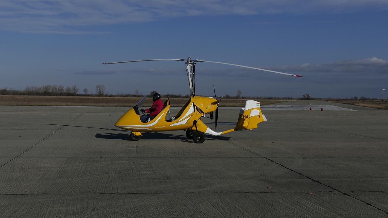 Sporty an sleek Autogyro with high technical level • SkyCruiser